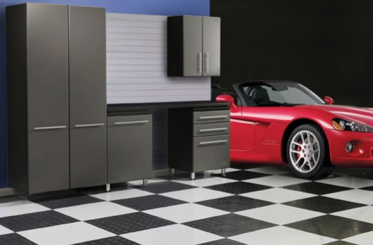 Autodeck tiles for the garage garage blitz for Best product to clean garage floor
